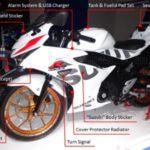 Ini Dia 9 Aksesoris Resmi Suzuki GSX-R150