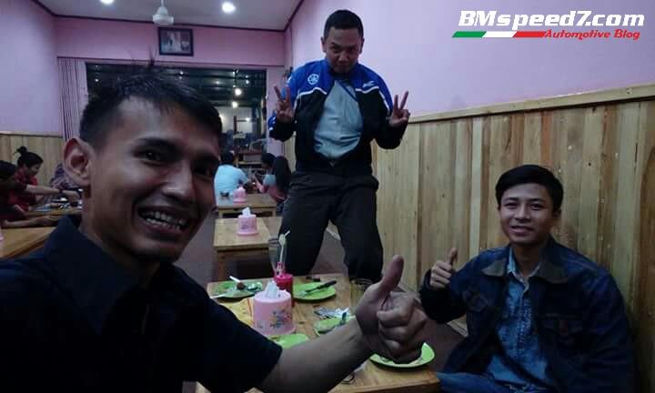 Mas Permana Triaz,Mas Huda Orong Orong.com yang pake Jaket Yamaha