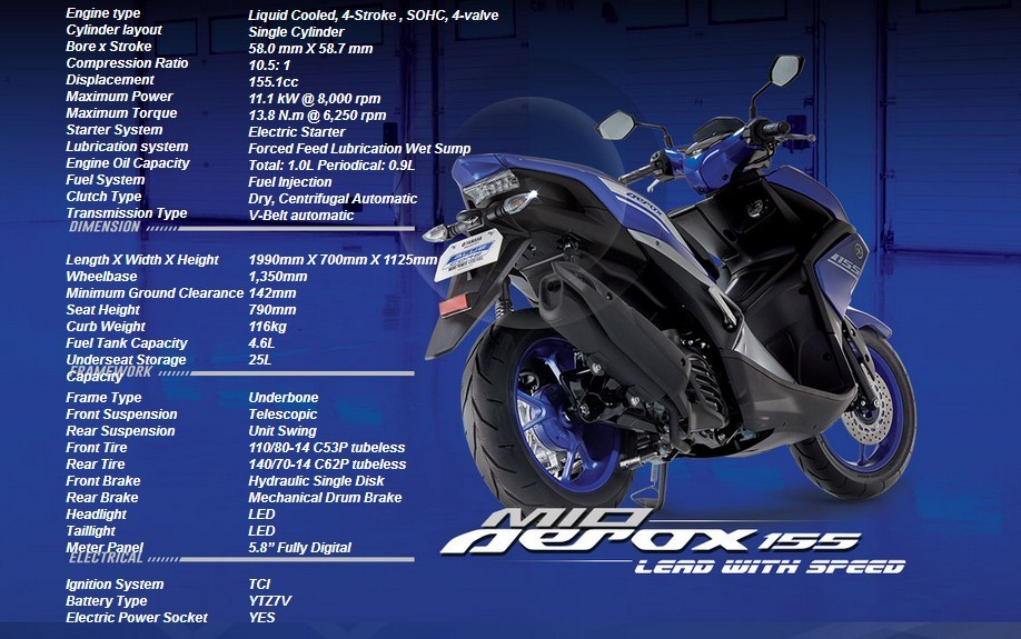 honda pcx modifikasi thailand with Spesification Yamaha Mio Aerox 155 Filipina 2017 Bmspeed7 on Honda Pcx Hybrid 2018 further Harga Honda Pcx 2018 Putih 2 besides Honda Forza 125 City Gt further 2013 Honda Crf250l Dual Sport Officially Announced For Us as well Headl  Beat Street 2017 Putih.