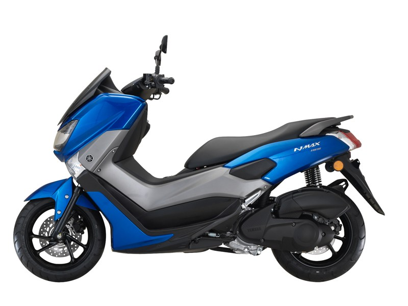 yamaha nmax 2018 blue metalik 3 bmspeed7 com. Black Bedroom Furniture Sets. Home Design Ideas