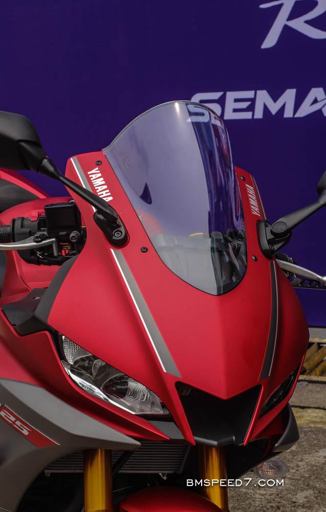 Visor Yamaha R25 Clear