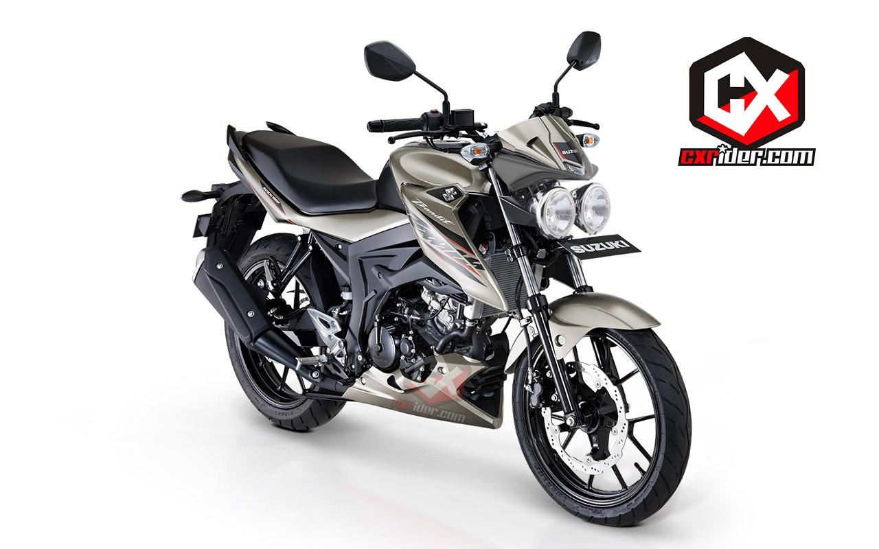 Modifikasi Suzuki GSX150 Bandit