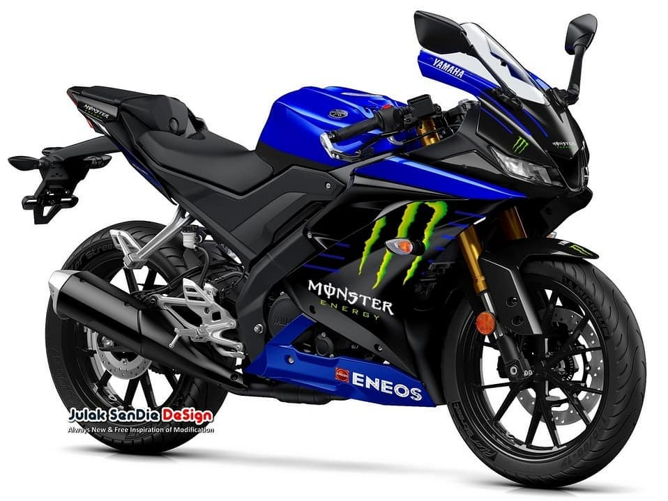 Yamaha R15/R125 Monster Energy