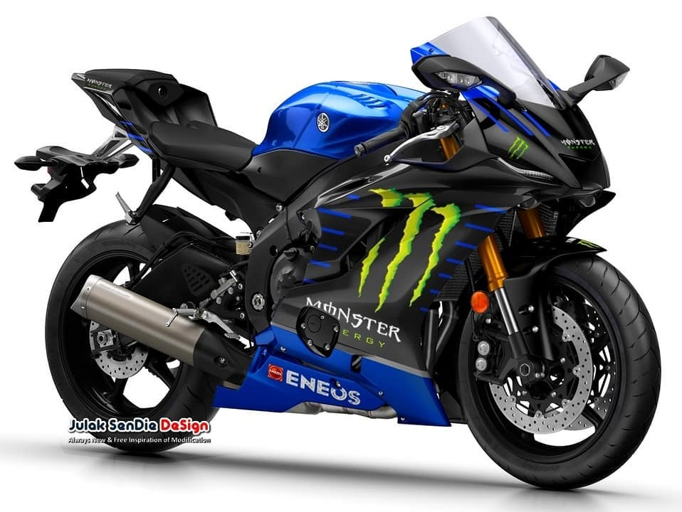 Yamaha R6 Monster Energy