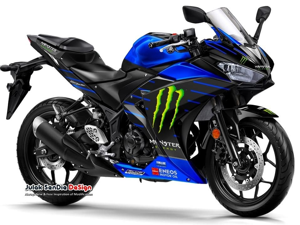 Yamaha R25 Monster Energy