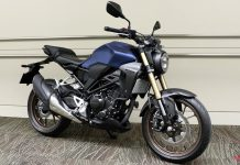 Honda CB250R 2019 Matte Blue