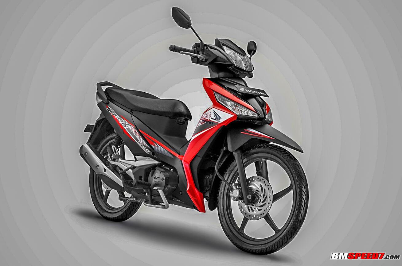 Honda Supra X 125 2019 Hitam Merah