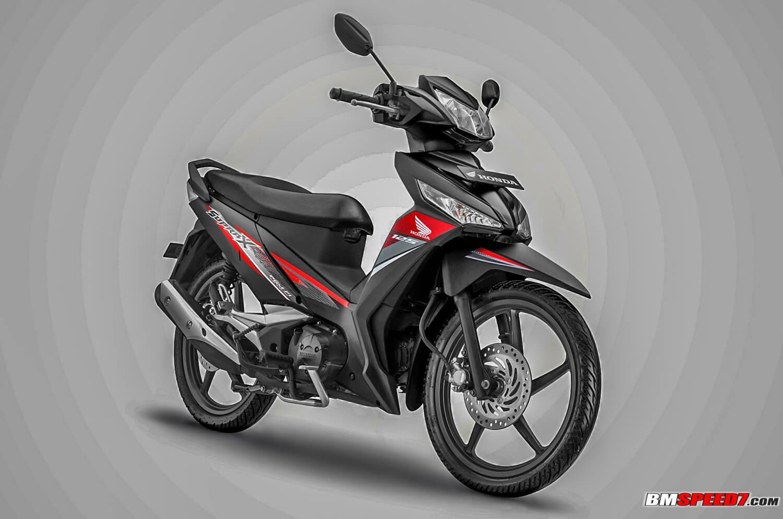 Honda Supra X 125 2019 Hitam