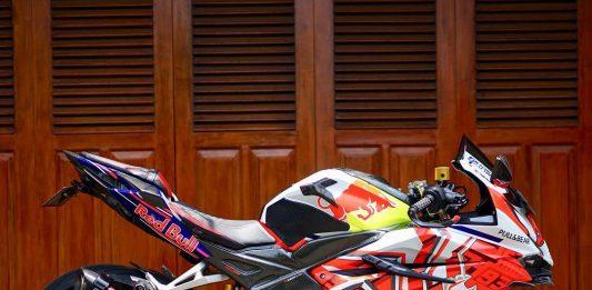 Modifikasi Honda CBR250RR Fauzan