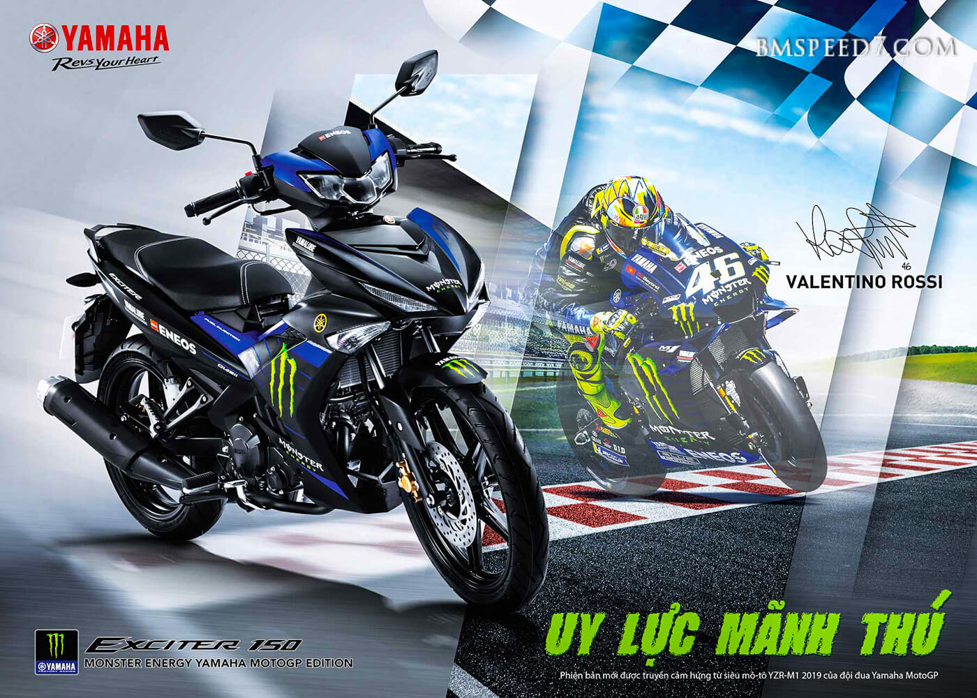 Yamaha MX King Monster Energy MotoGP