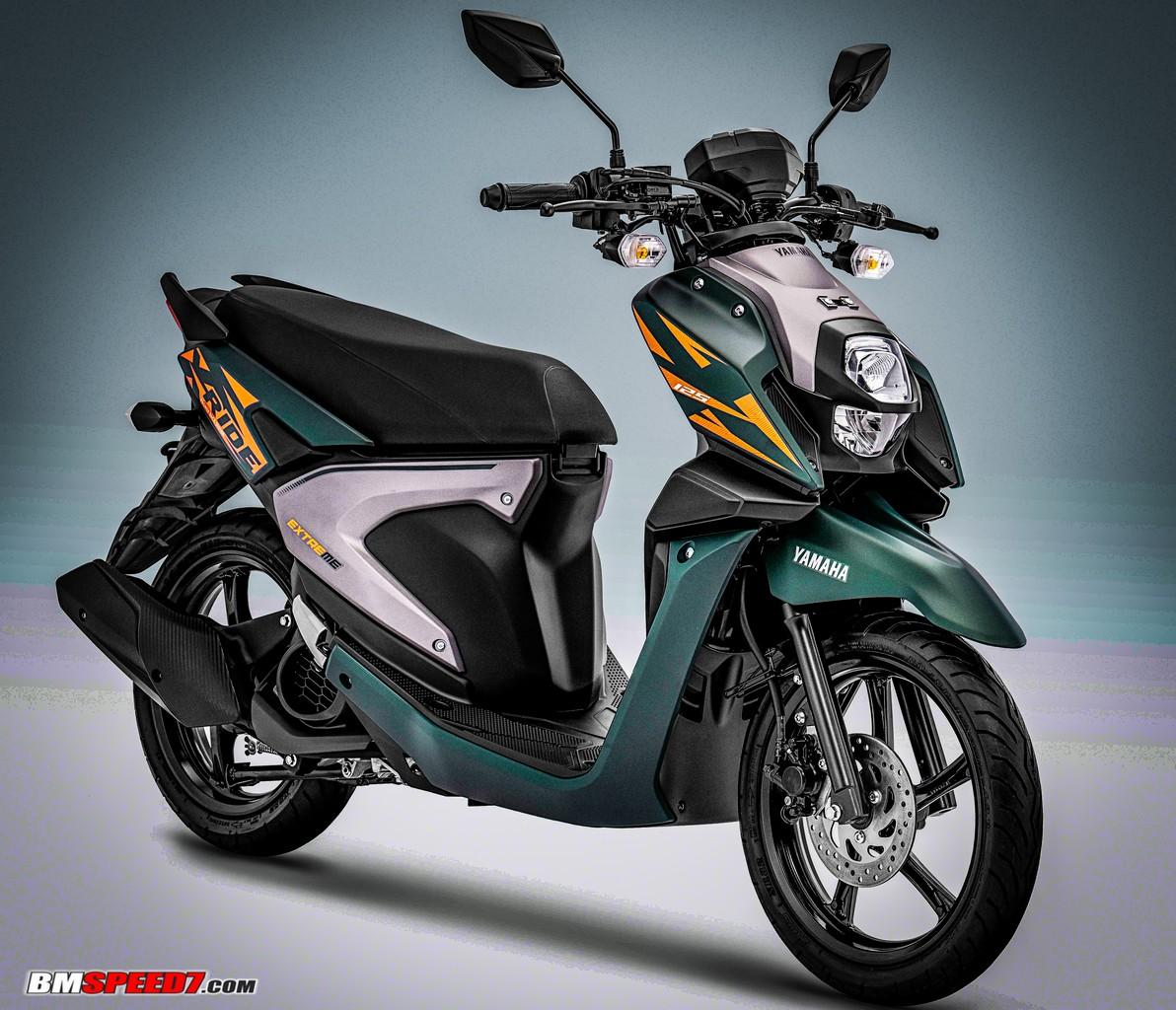 Yamaha X-Ride 2019 Hijau