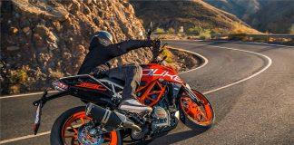 New KTM 390 Duke