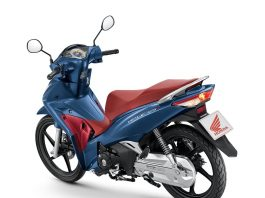 New Honda Wave 125i 2020 Blue Metallic